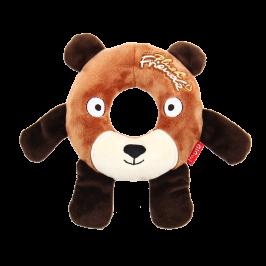 플러시 프렌즈 - 강아지 천연고무 장난감 도넛 베어
